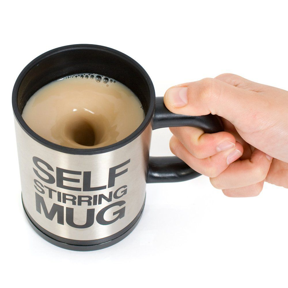 400 ML Self Stirring Mug Double Insulated <font><b>Automatic</b></font> Electric Coffee Cups Tea Milk Mixing Drinking Cup