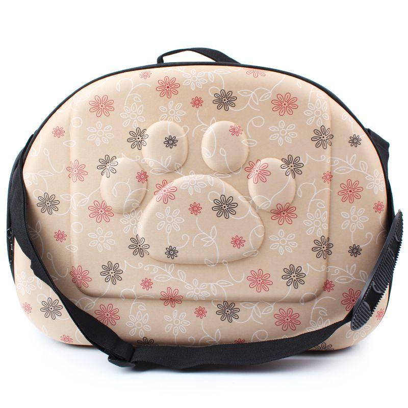 Высокое качество Pet Товары для собак и Товары для кошек дорожная сумка Мягкая EVA Портативный складная сумка животное два размера дышащий отк...