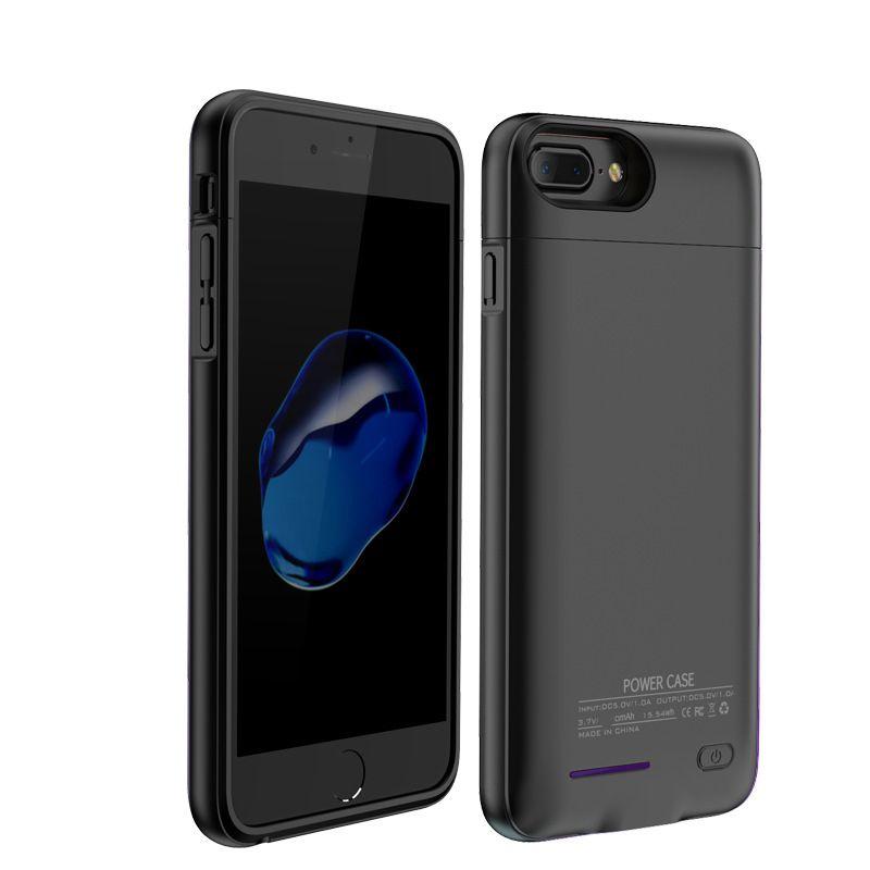 Pour iPhone 6 6 s 7 boîtier de chargeur de batterie externe 3000 mAh batterie de secours pour téléphone intelligent chargeur portatif batterie housse de charge