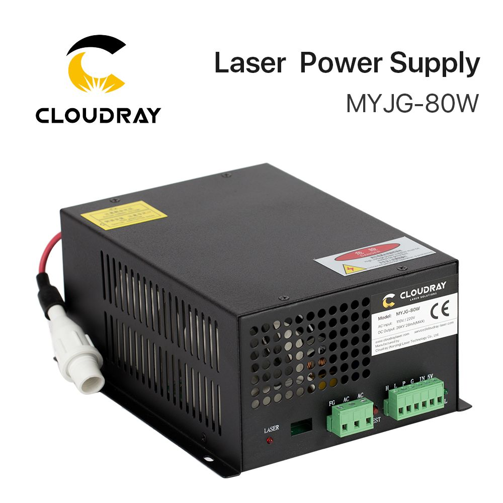 Cloudray 80W CO2 Laser Power Supply for CO2 Laser Engraving Cutting Machine MYJG-80W category