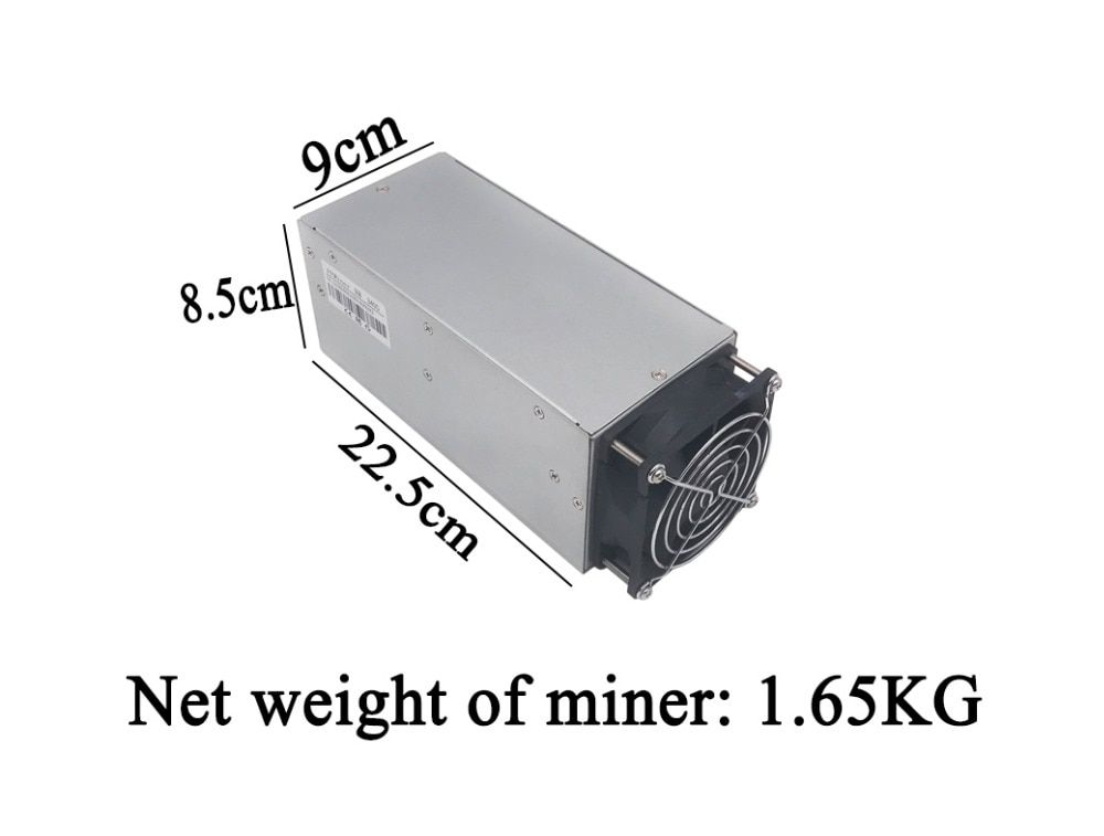 DCR miner FFMiner D18 340GH/S 160W mini and low noise asic miner Blake256 Better than antminer Z9 Mini, S9,A3,D3,V9,L3+