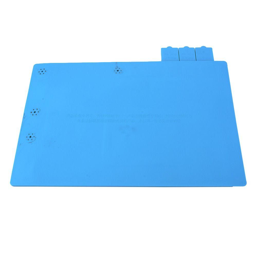 45x30 cm D'isolation thermique Table De Travail De Soudure Tapis Tapis De Table En Silicone pour Mobile Téléphone Entretien avec Étriers et rainures #2