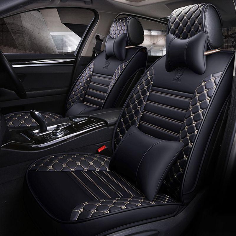 Universal auto sitz abdeckung für ford focus 2 3 S-MAX fiesta kuga 2017 ranger mondeo mk3 auto zubehör abdeckungen für fahrzeug sitz