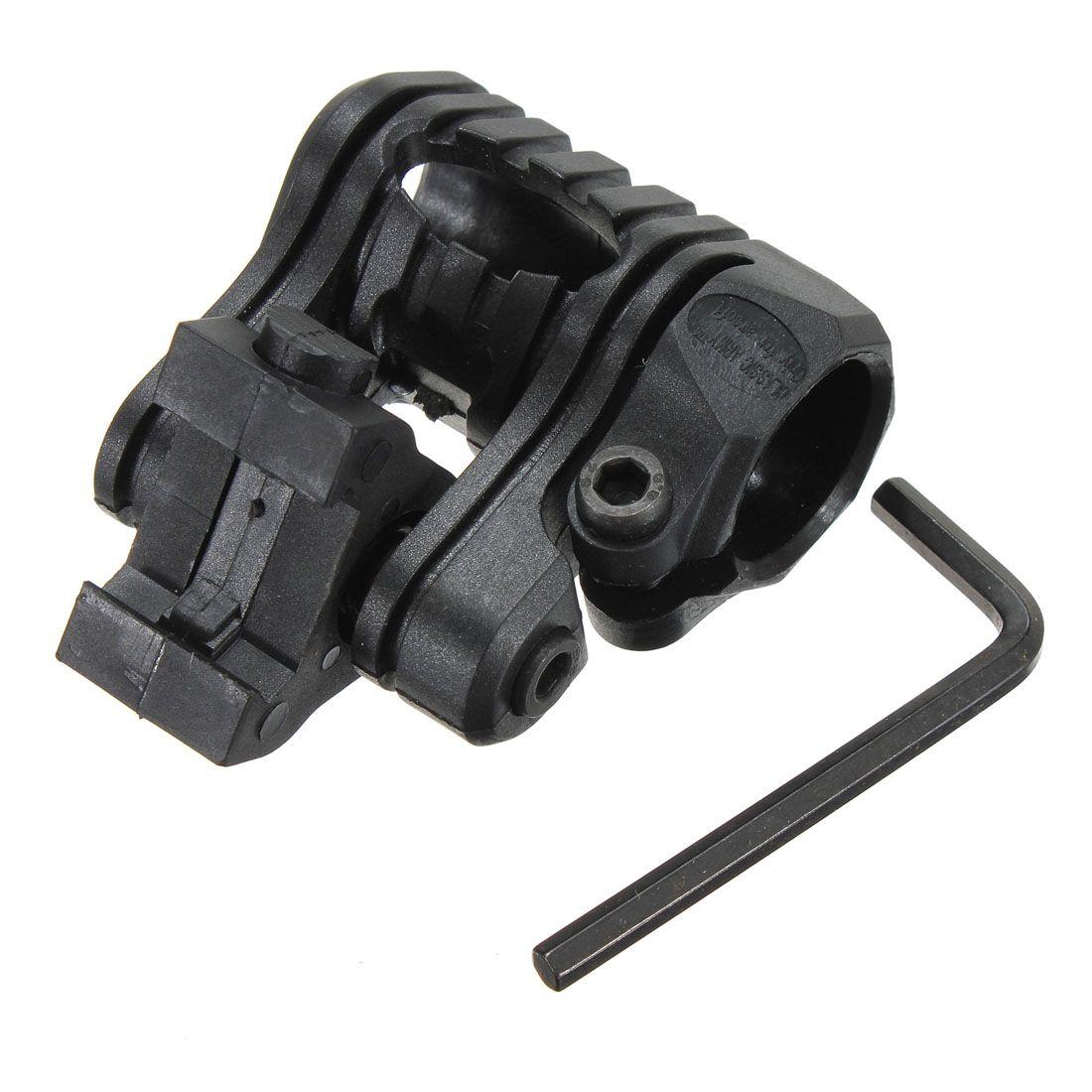 Heißer Verkauf Taktische 1 zoll/25mm 5 Position Für Airsoft Taschenlampe Laser Picatinny 20mm Schiene Montieren Für jagd