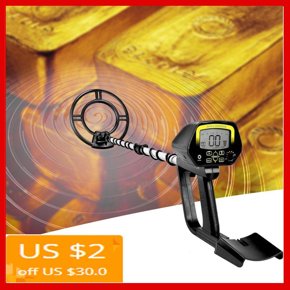 Portable Underground/Underwater Metal Detector Gold Treasure LCD Display Professional Metal Detector Searching Treasure MD4060