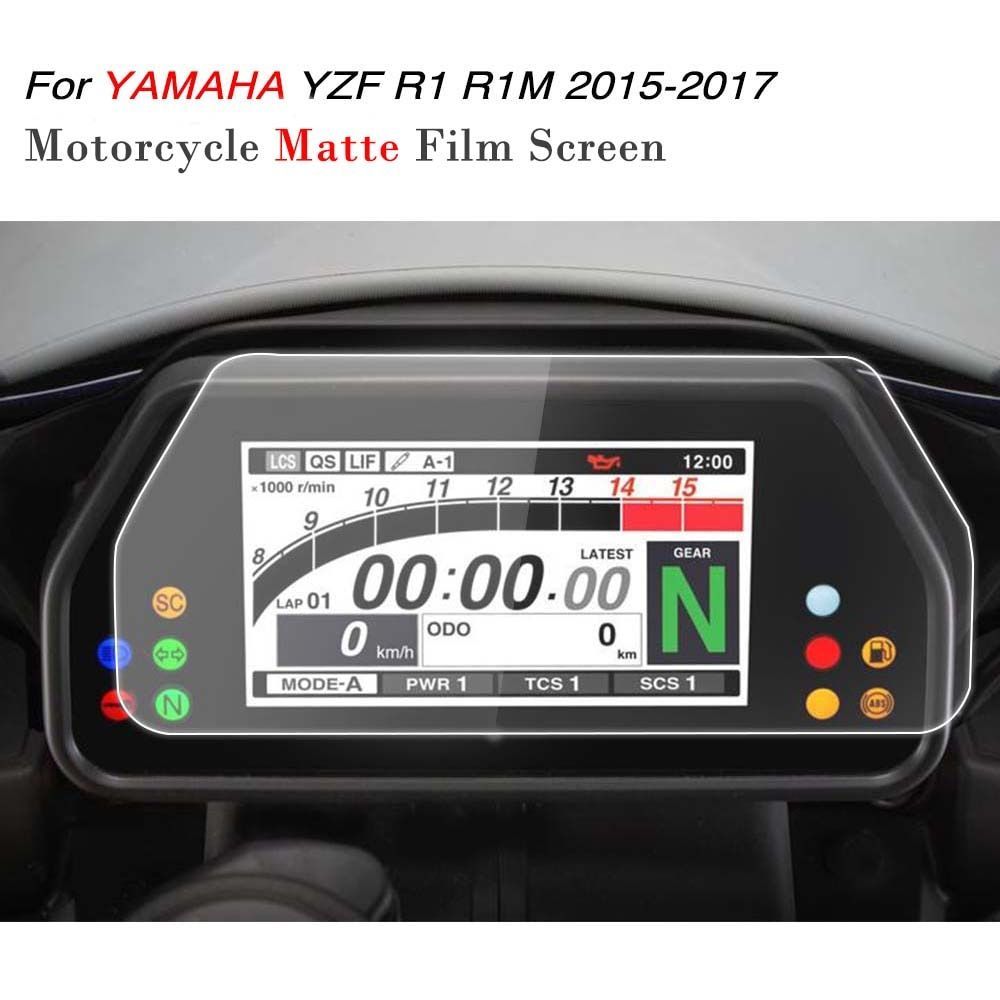 Kemimoto YZF R1 R1M 2017 аксессуары кластера нуля Спидометр Плёнки Экран протектор для Yamaha R1 YZF-R1 R1M 2015 2016 2017