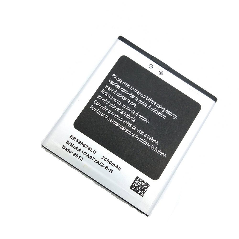 New 2600mAh EB595678LU Battery For HTM Feiteng H9500 (s4 h9500) MTK6589 + Star N9500 cell phone