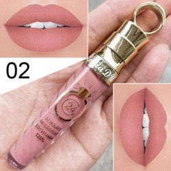 High quality Matte Lip Gloss Female Women 20 Colors Long-Lasting Nutritious Lipstic Women Lip Make Up Cosmetics Lip Gloss 1PC