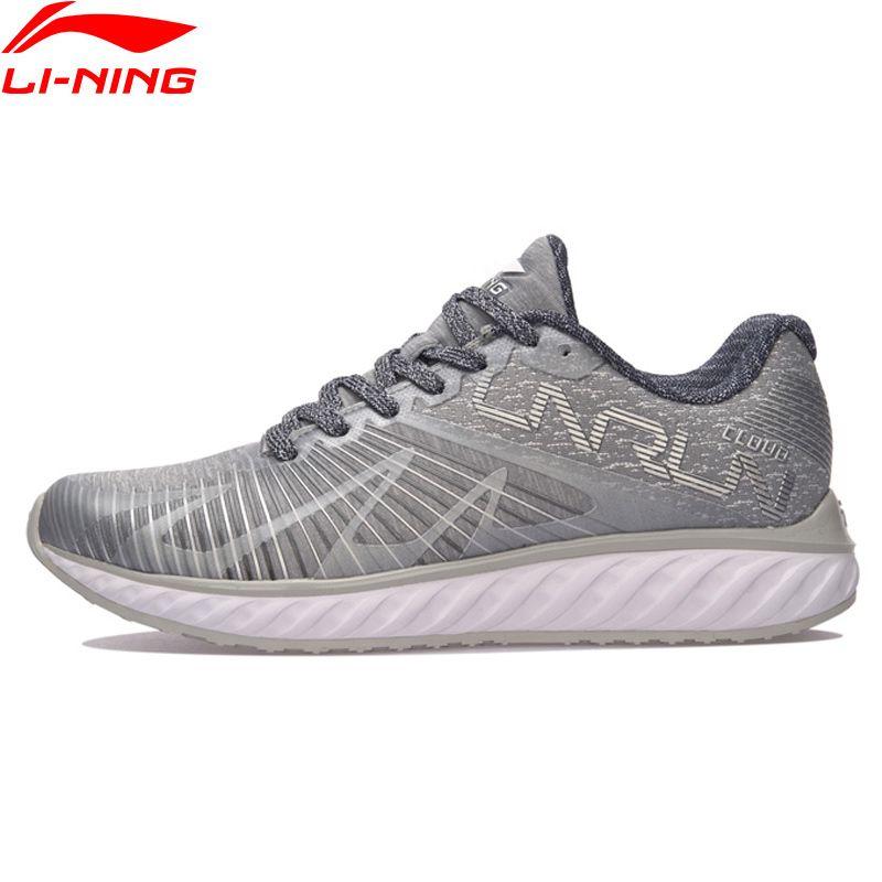 Li-Ning Women LN CLOUD IV 'FLAME' Running Shoes Mono Yarn Breathable Sneakers LiNing Wearable Sport Shoes ARHM068 XYP590