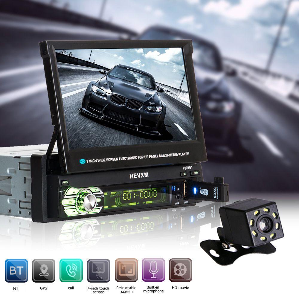 Automagnitola 2 Din Auto Video MP5 Multimedia Player Autoradio 9601G Fm-radio-empfänger Mit Versenkbaren Enthält GPS