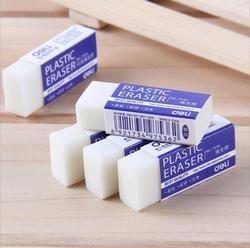 3 Pcs/lot Corée Papeterie Créative Standard Crayon Gommes Mignon Pur Blanc Art En Caoutchouc Gomme Pour Enfants Fournitures de Bureau de L'école