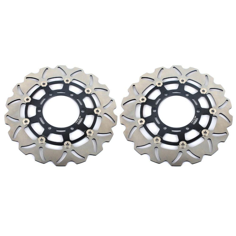 BIKINGBOY Vorder Pair Bremsscheiben Scheiben Rotoren für SUZUKI GSXR GSX-R 600 750 2008-2016 GSXR1000 09 10 11 12 13 14 15 2016 2017