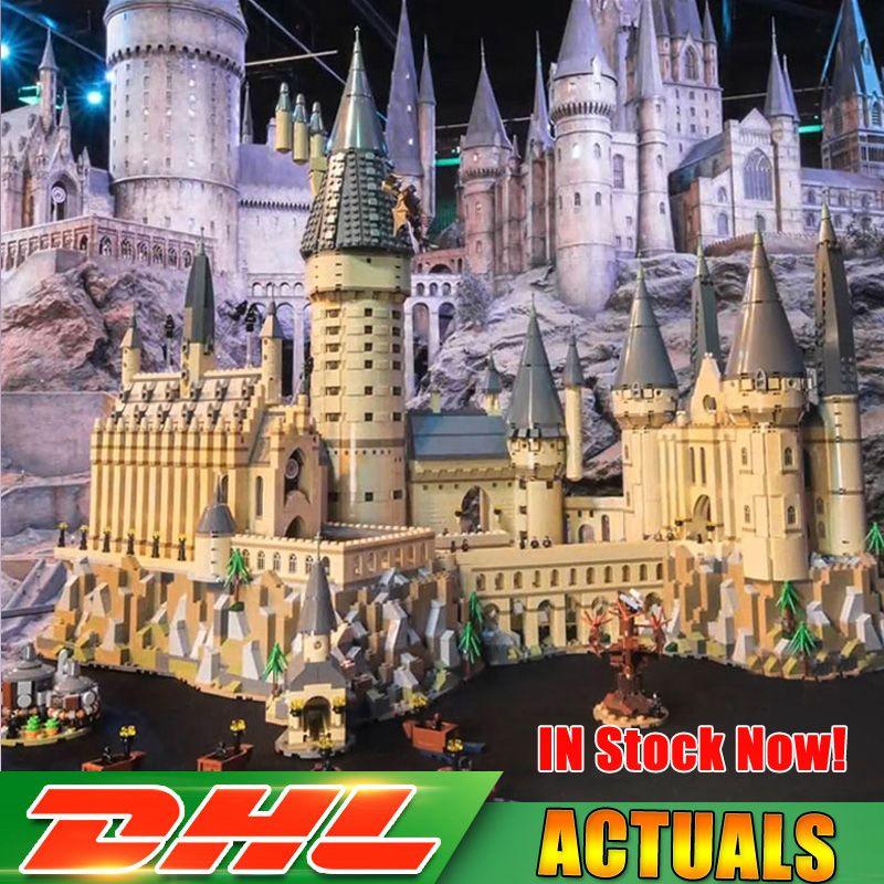 Kompatibel Legoing 71043 Lepin 16060 6742 stücke Harry Magie Potter Hogwarts Castle Schule Kit Bausteine Ziegel Spielzeug Modell