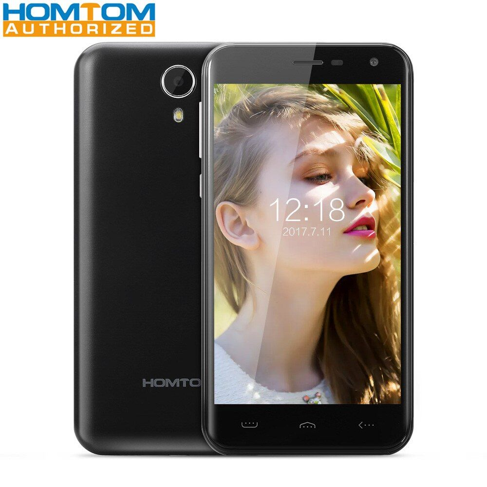HOMTOM HT3 5.0 inch Android 5.1 3G Smartphone MTK6580 Quad Core 1.3GHz 2.5D HD Screen 1GB RAM 8GB ROM Dual Cameras GPS Smart Ges