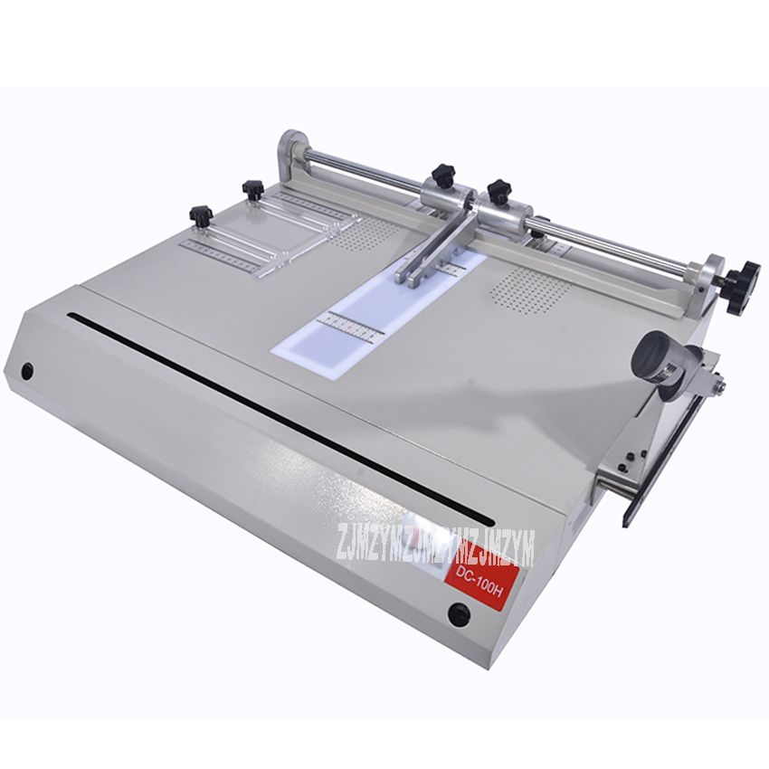 DC-100H Hardcover Making Machine , Hardcover Case Maker, A4 Vertical Loading Book Cover Making Machine Large Area 600*520mm HOT