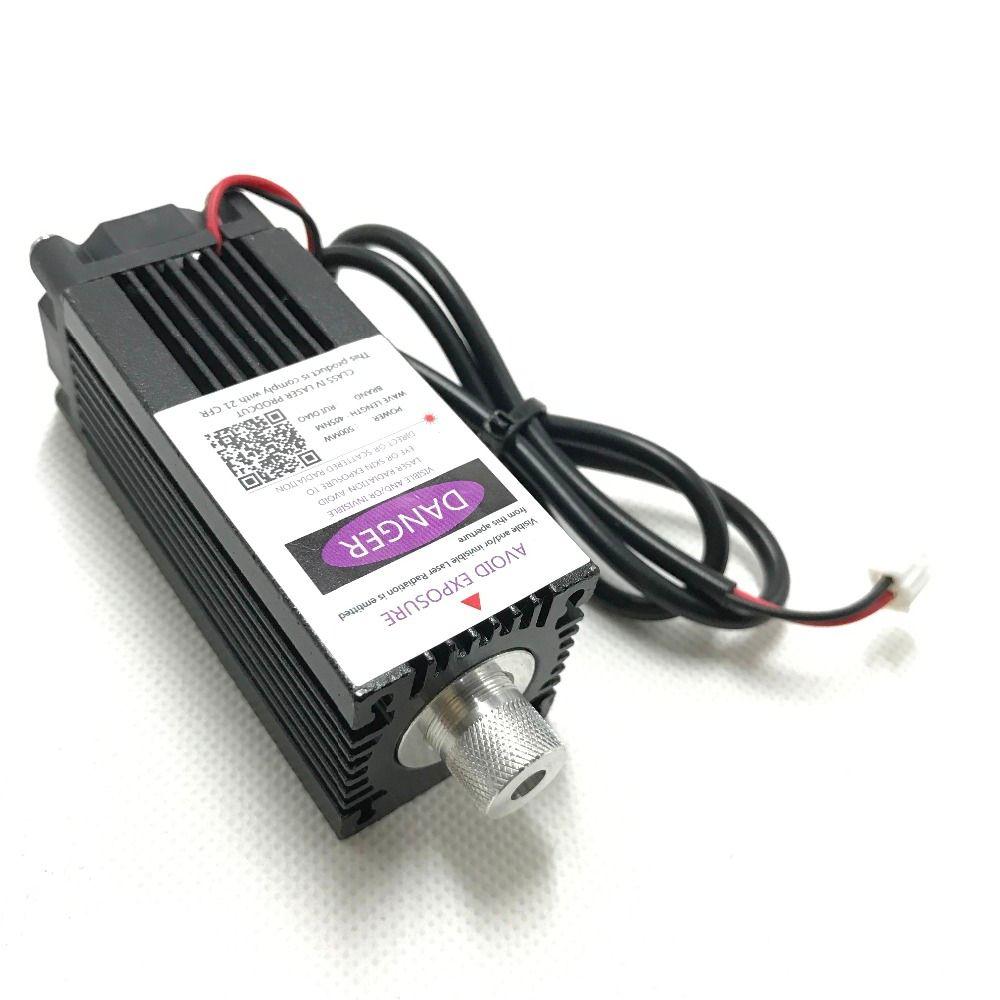 500 mw 405NM fokussierung blau lila laser modul gravur, laserröhre diode hx2.54 2 p port + schutz googles