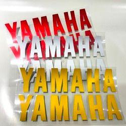 Motocicleta de alta calidad estéreo 3 M pegatinas reflectantes para Yamaha logo TMAX YZF R1 YZF R6 FZ6 Fazer FZ1 Fazer TDM 900 FZ1 faz