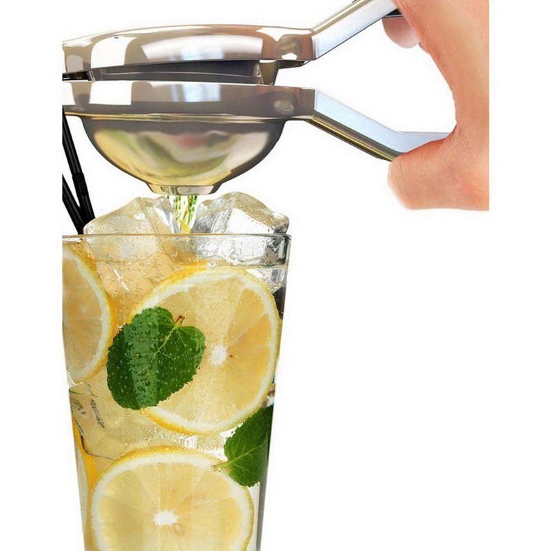 Acier inoxydable presse citron citron orange juicer Citrus Squeezer cuisine bar Alimentaire Processeur Gadget Cuisine T31 T31