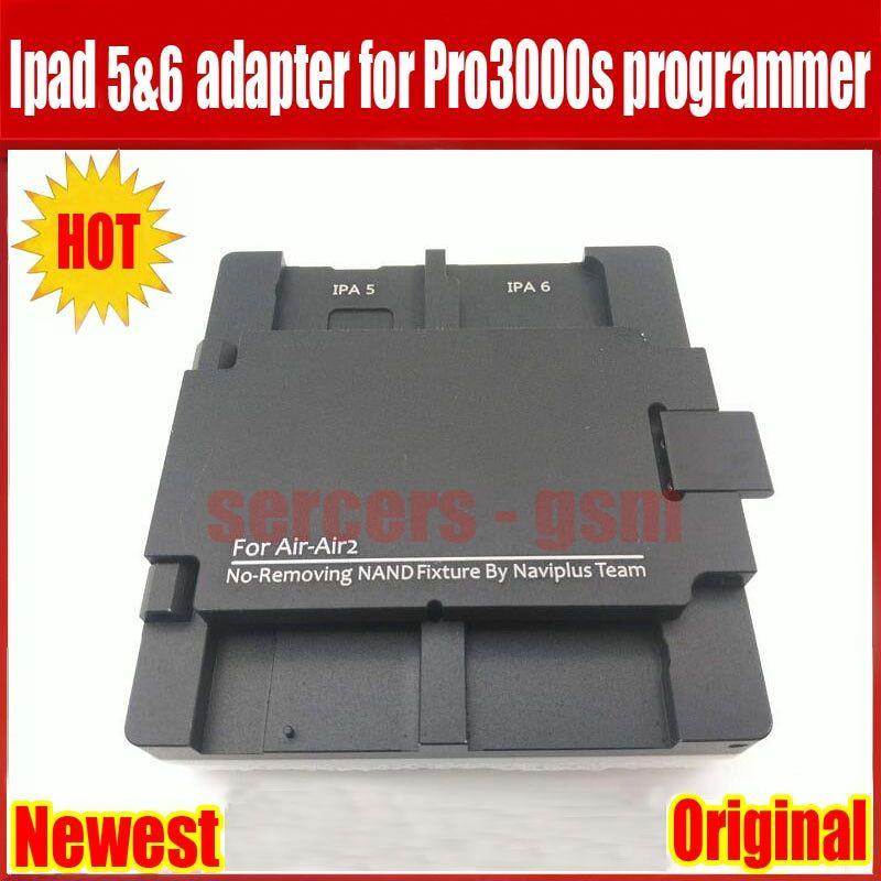 Newest pro3000s adapter for ipad 5 6 no-removing nand fixture