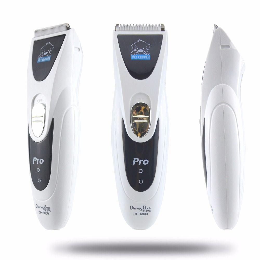 CP6800/MY-90 puissante tondeuse électrique pour chien argent Rechargeable forte tondeuse à cheveux pour animaux de compagnie chien toilettage coupe de cheveux rasoir Machine