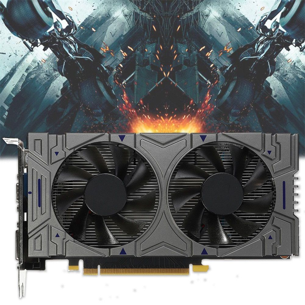 Ouhaobin GTX 1050 2GB GDDR5 192Bit VGA DVI HDMI Graphics Card For NVIDIA for Geforce games Apr 12