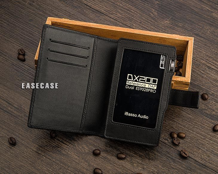 E4 Custom-Made Genuine Leather Case For IBASSO DX200
