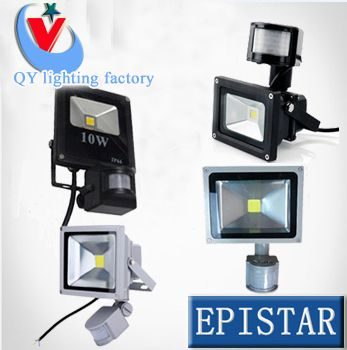 LED Flood Light search projector light lamp 10W 20W 30W 50W 85-265V PIR Motion sensor Sense detective ceiling light