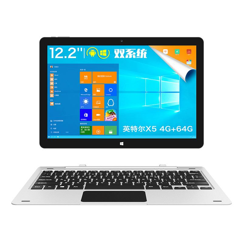 InstockTeclast TBook 12 Pro 2 in 1 Tablet PC 12,2 zoll tbook12pro Windows 10 Home Android 5.1 Intel Kirsche Trail X5 Z8300 64bit