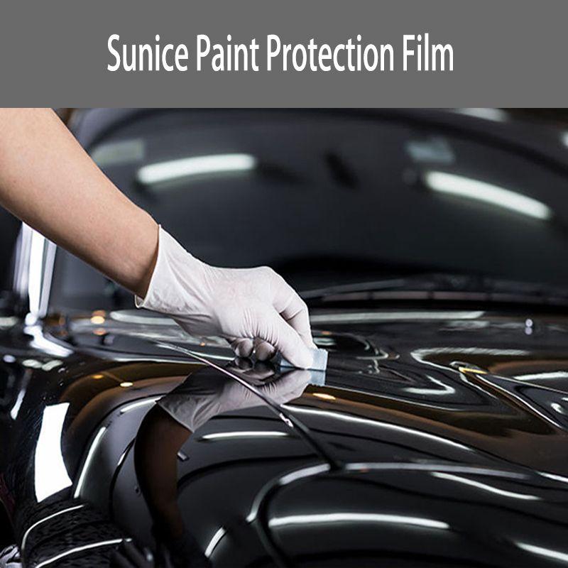 TONNEN PRO STUNDE Transparente Schutz Film Anti Scratch PPF Auto Fahrzeug Körper Wrap Vinyl Film DIY Abziehbilder 1,52x10 m/ 60 ''x 394'' Wasserdicht