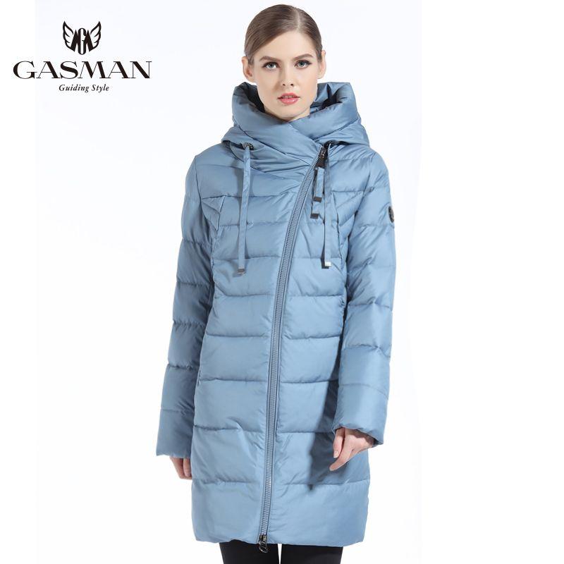 GASMAN 2019 Frauen Winter Jacke Lange Winter Dicken Mantel Für Frauen Mit Kapuze Unten Parka Warme Weibliche Kleidung Winter Plus Größe 5XL 6XL