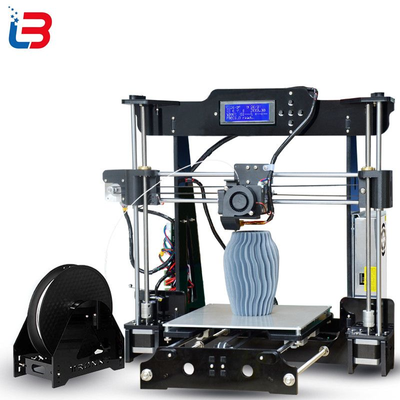 Best Tronxy P802M Auto Level 3D Printer DIY full kits Direct Extruder MK3 heatbed 3D Printing 3DCSTAR P802-MHS