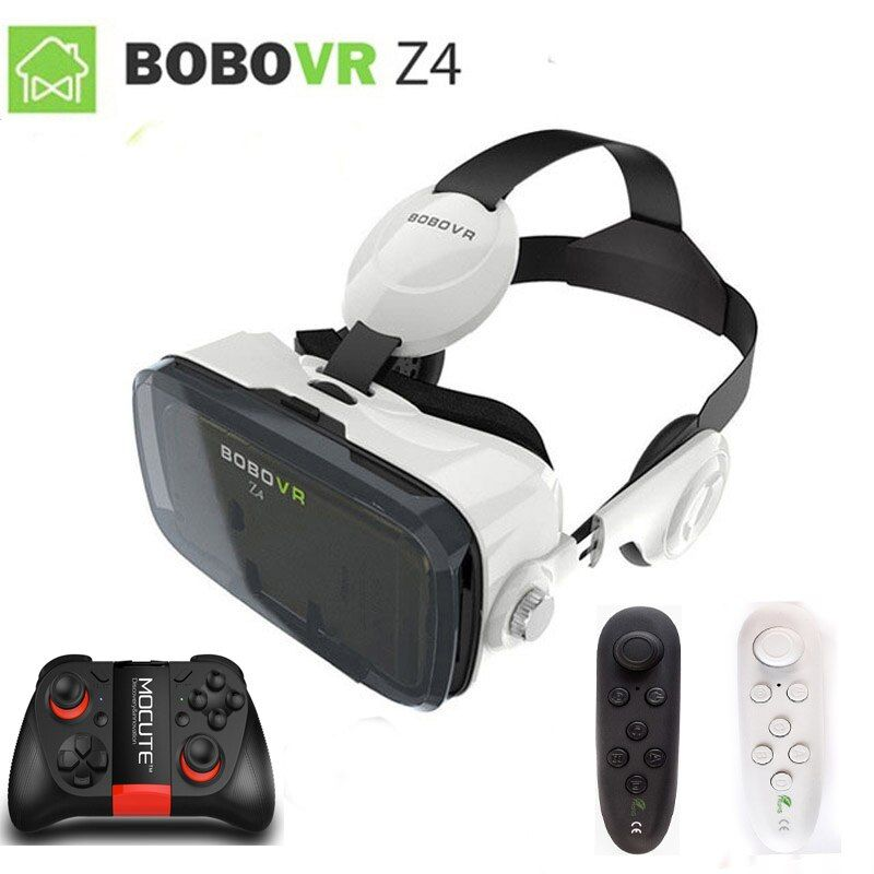 XiaoZhai bobovr z4 VR Virtual Reality 3D Glasses VR Headset VR helmet cardboad bobo Box and Bluetooth Controller