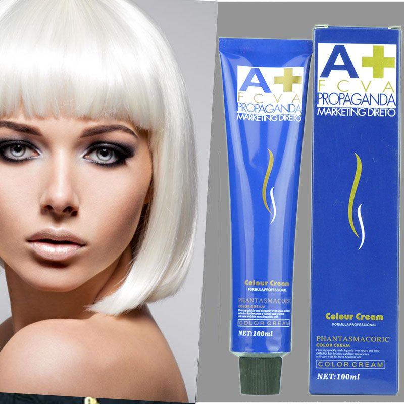 3.5oz /100ml hair cream Hair Care Permanent White Gold Power Cream Fashion Hair Color Salon Hair Dye