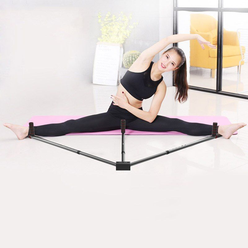 Iron Leg Stretcher 3 Bar Legs Extension Split Machine Flexibility Training Tool for Ballet Balance ALS88