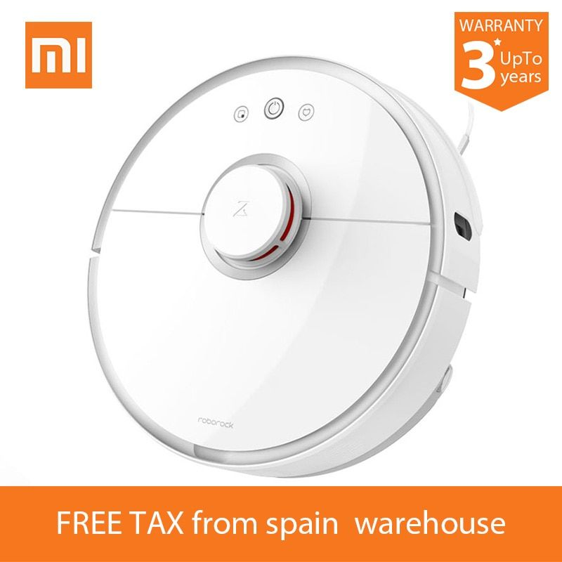 2018 Xiaomi Roborock S50 Robot Vacuum Cleaner 2 S51 for Home Automatic Sweeping Dust Sterilize Smart Planned Washing Mopping