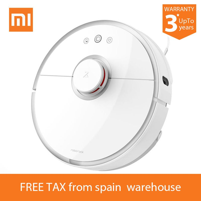 The real Xiaomi S50 S51 Robot Vacuum Cleaner 2 for Home Automatic Sweeping Dust Sterilize Smart Planned Washing Mopping