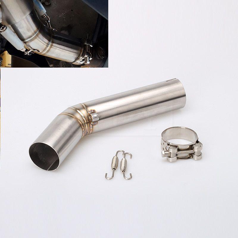 Motorcycle Exhaust Muffler Middle Link Pipe Connection For Suzuki GSXR600 GSXR750 GSXR1000 GSXR 600 750 1000 2008 08 Slip-on