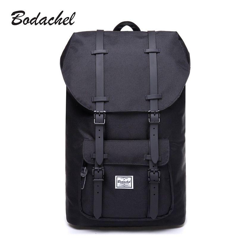 Bodachel Travel Backpack for Men School Bag Laptop Notebook Backpack Male Drawstring Knapsack Tourist sac a dos homme