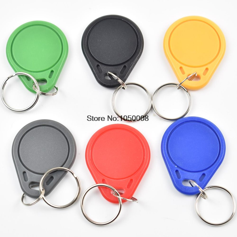 100pcs New FUID Tag One-time UID Tag Changeable Block 0 Writable 13.56Mhz RFID Proximity Keyfobs Token Key Copy Clone