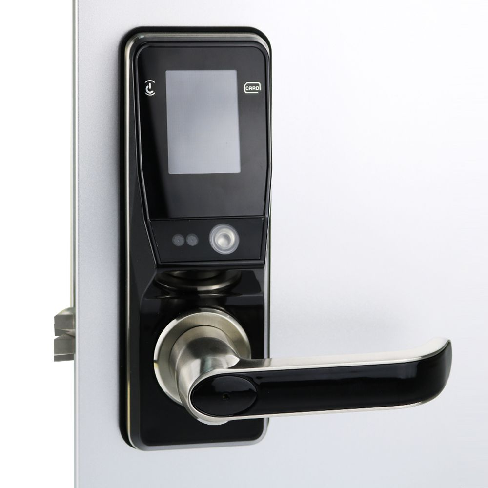 Electronic Door Lock Advanced Smart Facial Recoginition Door Lock Security Digital Touch Screen Keyless Face Smart Door Lock