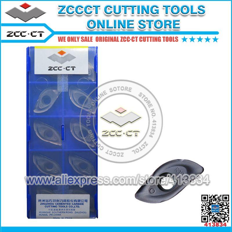 Freies Verschiffen ZCCCT schneiden werkzeuge cnc drehen einsätze und werkzeug halter 1 paket
