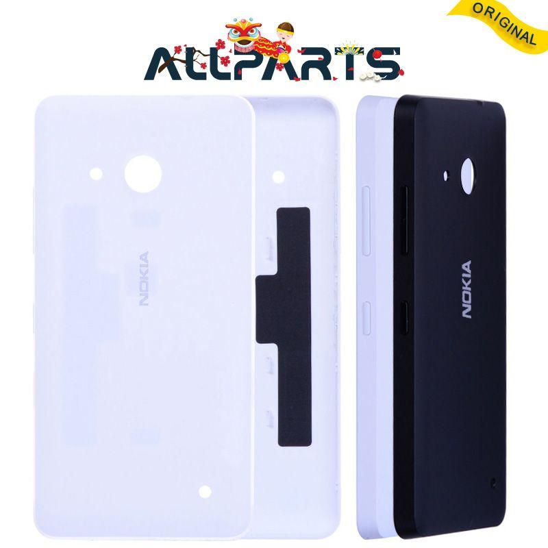 Garantie Logement Pour Nokia Microsoft Lumia 550 Cas de Couverture Arrière batterie Porte Arrière avec Adhésif Pour Nokia Lumia 550 Batterie couverture