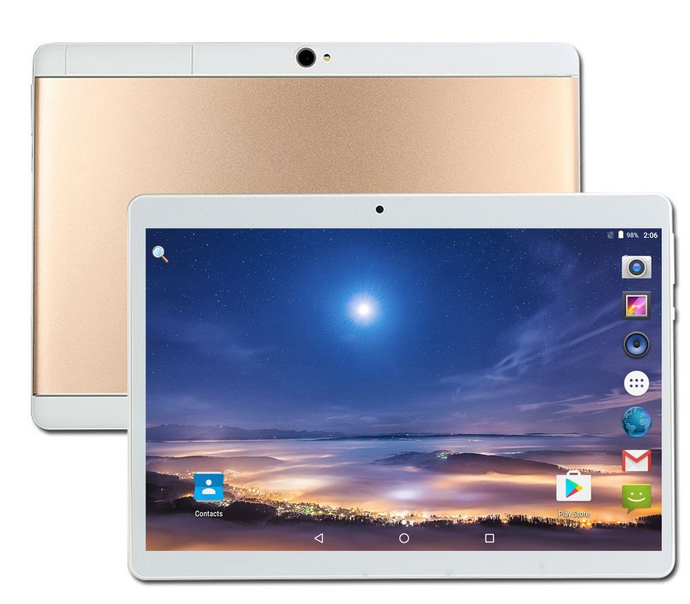 DHL Livraison Gratuite Android 7.0 10.1 pouce CARBAYTA S109 tablet pc 8 Octa base 4 GB RAM 32 GB 64 GB ROM IPS 3G MT8752 tabletter
