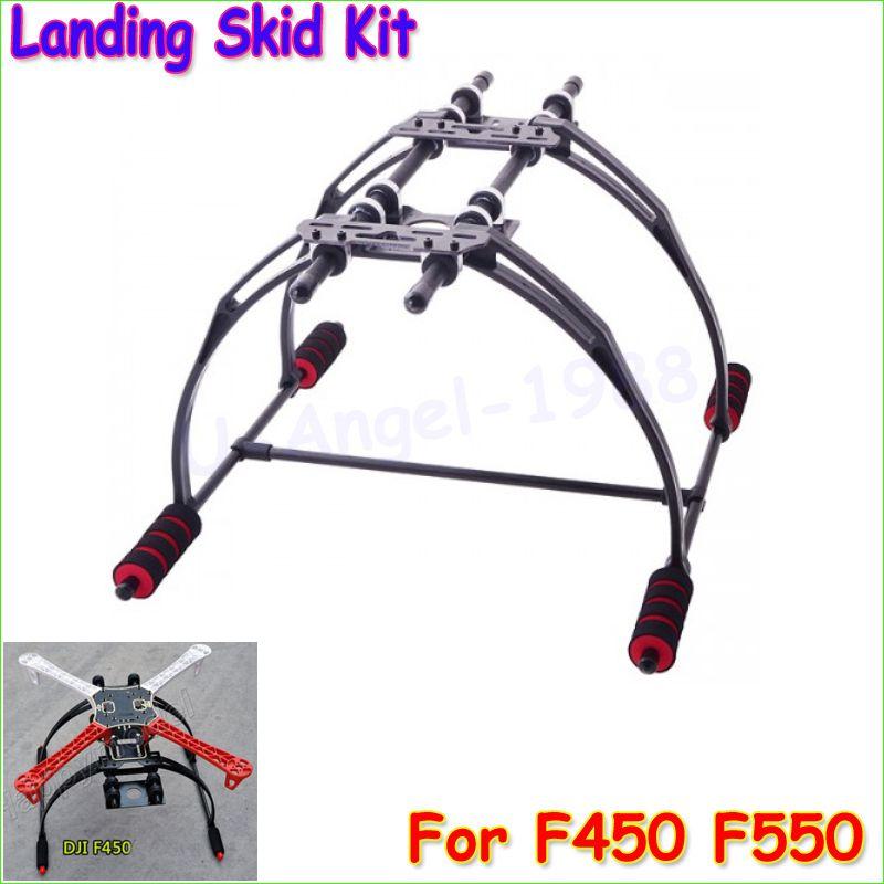 Wholesale 1pcs FPV Anti Vibration Multifunction Landing Skid Kit F450 F550 Quad Hexa copter Dropship
