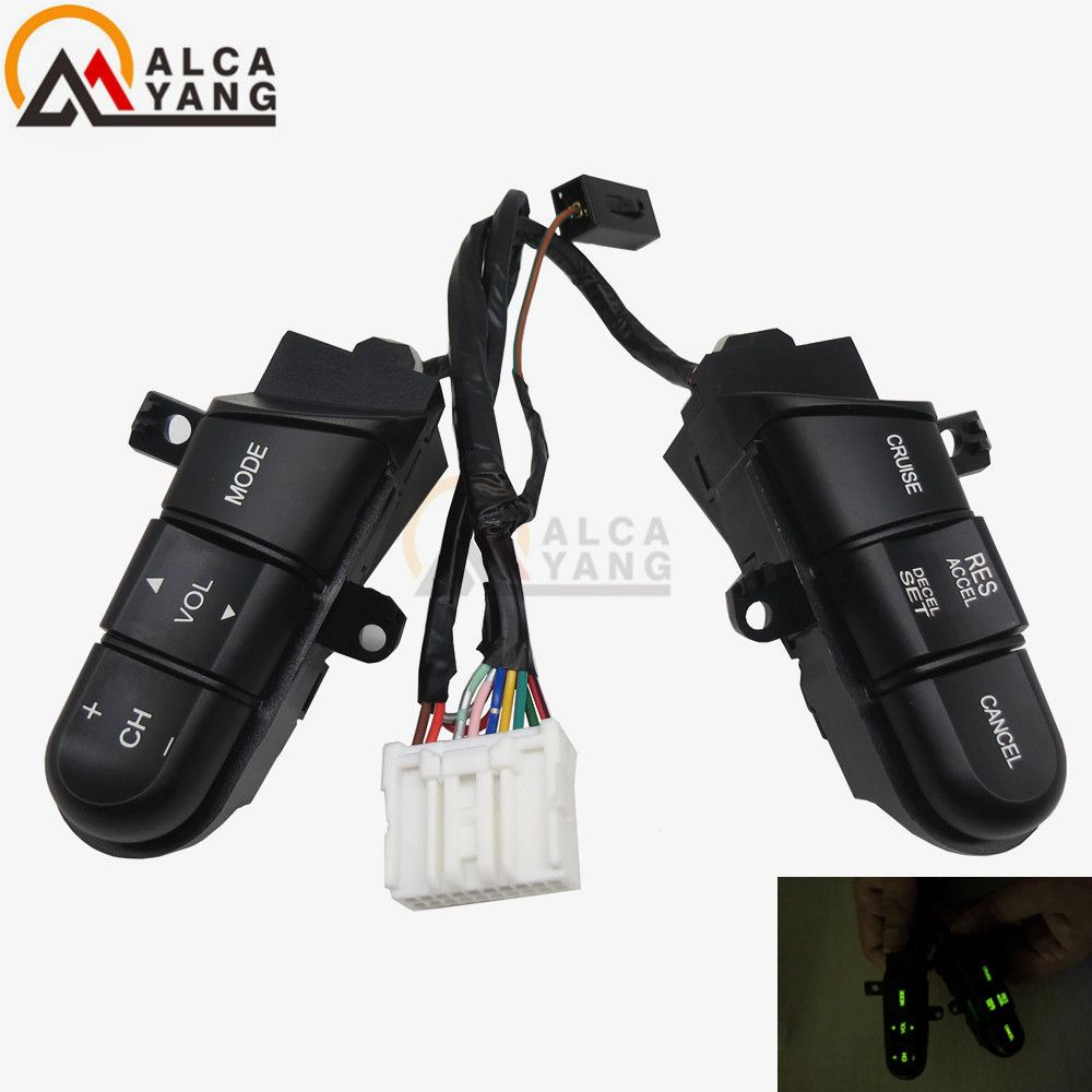Malcayang Steering Wheel Audio Control Switch/Button For Honda Civic 06-11