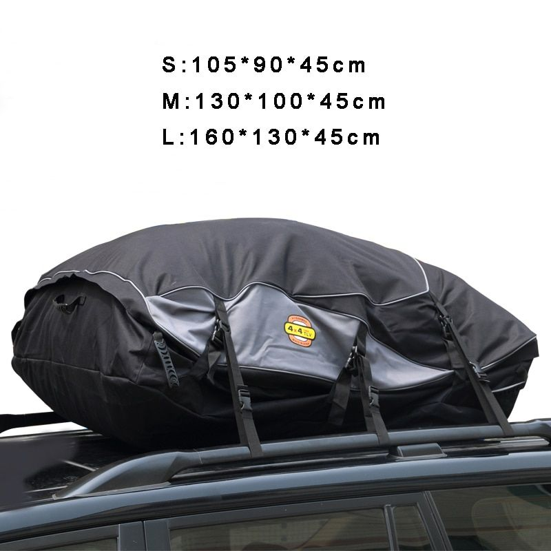 Водонепроницаемость крыши мешок большой Ёмкость крыше Грузовой автомобиль Багаж хранения для путешествий