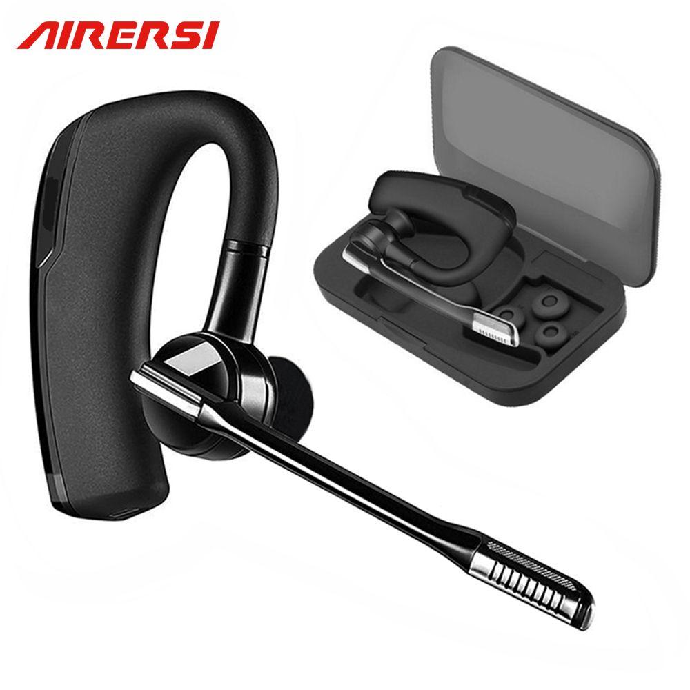 Newest K6 Wireless Bluetooth Earphone Sports Headphones Stereo HD Mic Car Driver <font><b>Handsfree</b></font> Business Bluetooth Headset with Box