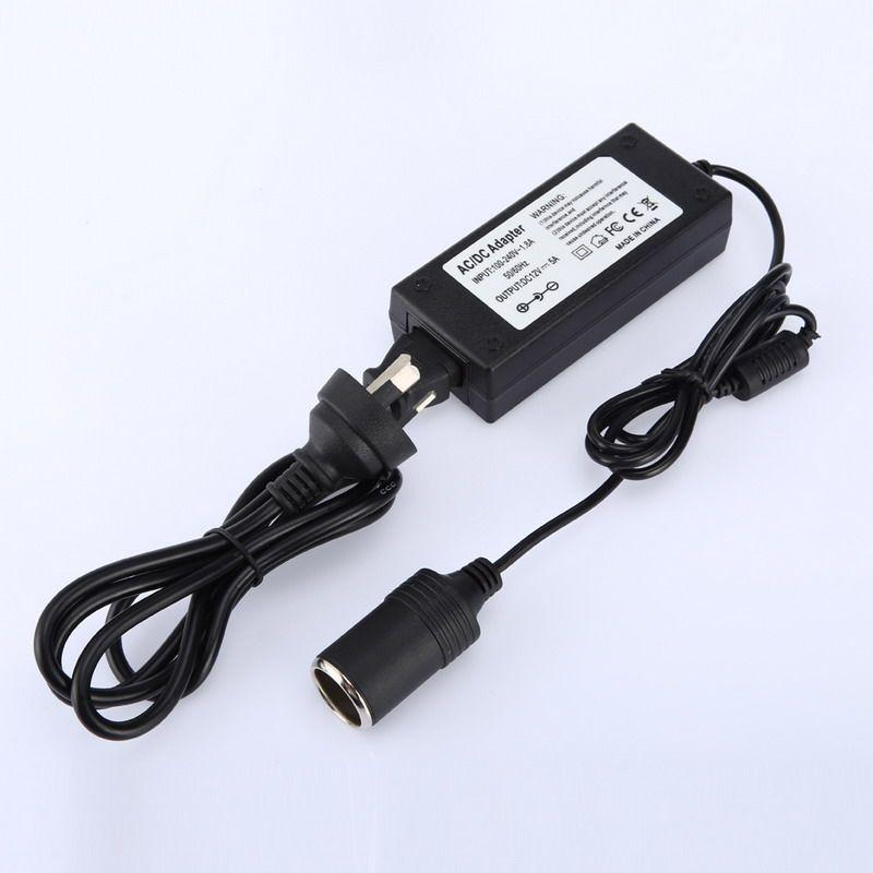 Automotive Household Car Charger Cigarette Lighter Inverter 220V to 12V Power AC/DC Adapter Converter Car Charger AU Plug