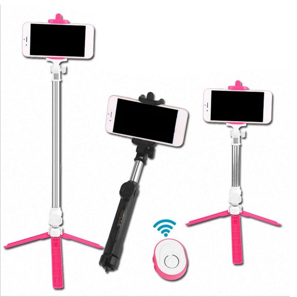 Drahtlose Bluetooth Fernauslöser Selfie Stick Mini Stativ Erweiterbar Selfie Stick Universal für iOS Android Smartphone Dropship