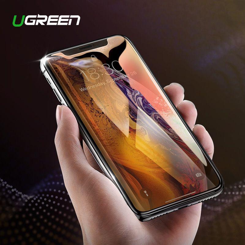 Ugreen Screen Protector Gehärtetem Glas Für iPhone 7 8X6 6 s 6 Plus 7 Plus 8 Plus HD schutz Film Für iPhone Xs 7 Telefon Glas